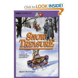 book report on snow treasure